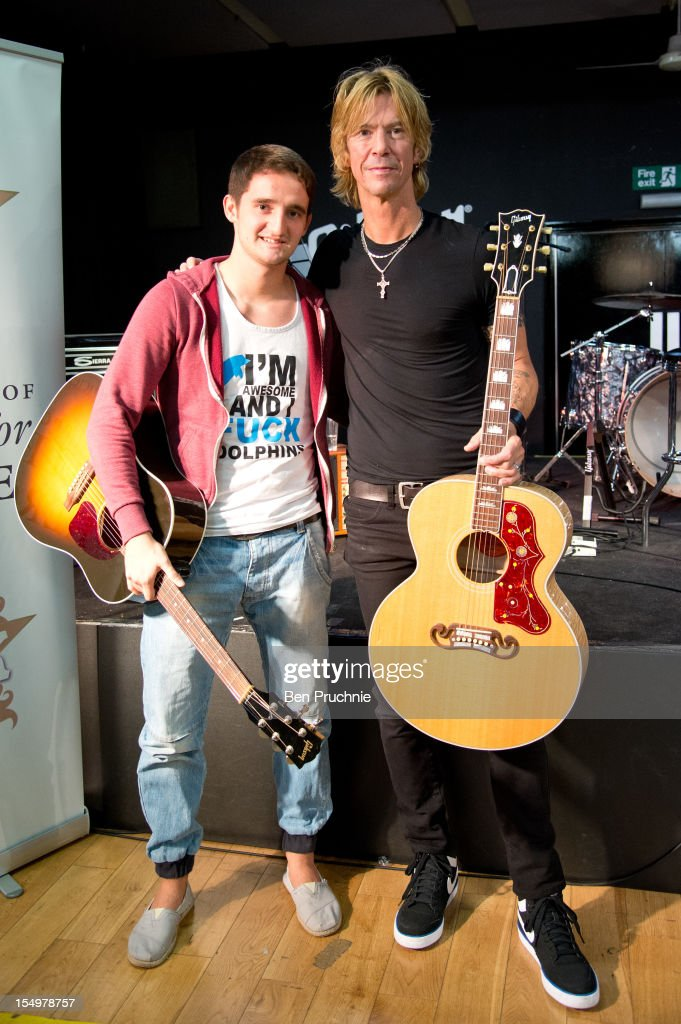 Help For Heroes - Duff McKagan Meet & Greet