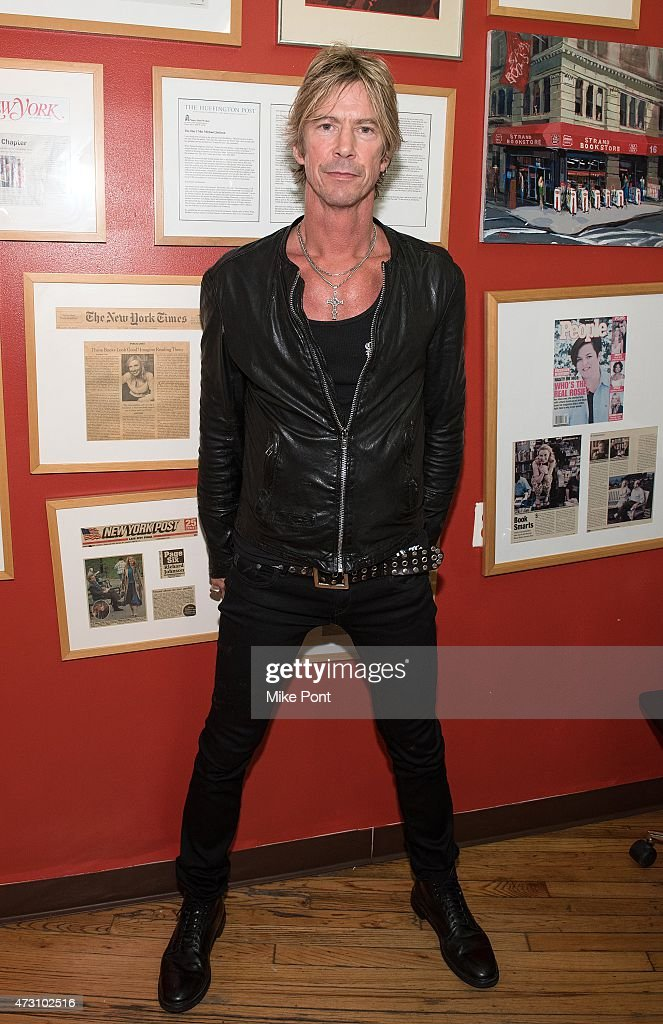 Duff McKagan signs copies of 'How To Be A Man' at Strand Bookstore on May 12, 2015 in New York City.