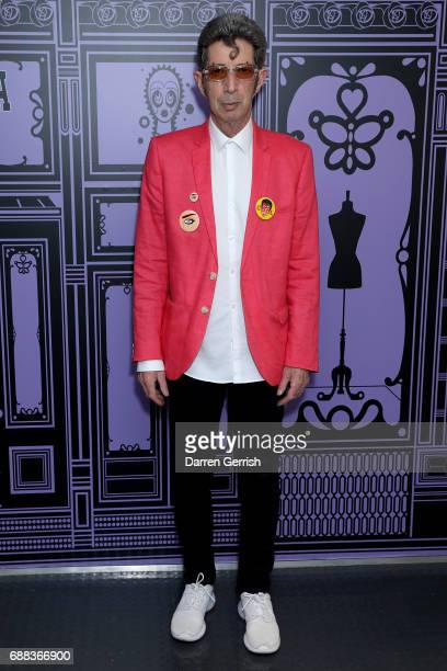 Duggie Fields attends the World of Anna Sui Exhibition Private View at the Fashion and Textile Museum on May 25 2017 in London England
