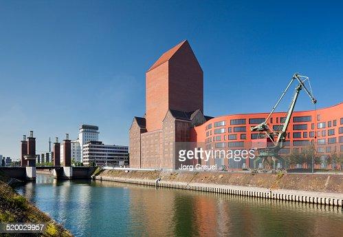 Duisburg Innenhafen (Inner Harbour)