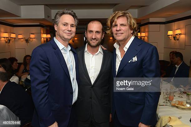 DuJour Founder and CEO Jason Binn Goldman Sachs Head of Brand Management Marketing Communications Dustin Cohn and CEO of Nue Studio Group Richard...