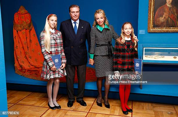 Duke of Castro Prince Carlo of BourbonTwo Sicilies Duchess of Castro Princess Camilla of BourbonTwo Sicilies Duchess of Capri Maria Clara BourbonTwo...