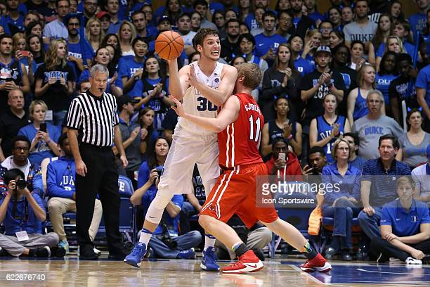 Duke's Antonio Vrankovic and Marist's Tobias Sjoberg The Duke University Blue Devils hosted the Marist College Red Foxes on November 11 at Cameron...