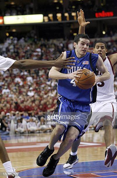 Duke's JJ Redick became the alltime leading scorer in ACC history versus Temple at the Wachovia Center Philadelphia Feb 25 2006 He scored 11 points...