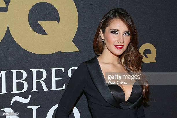 Dulce Maria attends the GQ Mexico Men of The Year 2015 awards at Live Aqua Bosques hotel on November 4 2015 in Mexico City Mexico