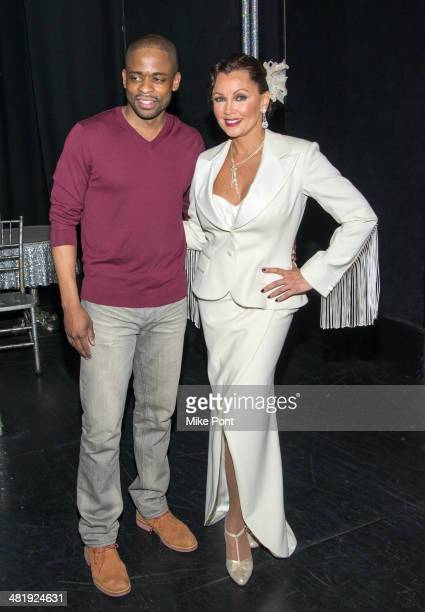 Dule Hill and Vanessa Williams attend Broadway's 'After Midnight' at The Brooks Atkinson Theatre on April 1 2014 in New York City Actress Vanessa...