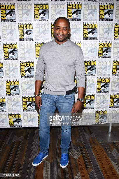 Dule Hill attends the 'Psych' press conference at ComicCon International 2017 on July 21 2017 in San Diego California