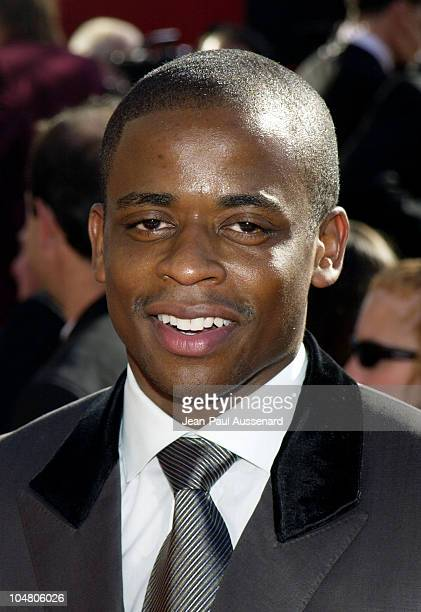 Dule Hill during The 54th Annual Primetime Emmy Awards Arrivals at The Shrine Auditorium in Los Angeles California United States