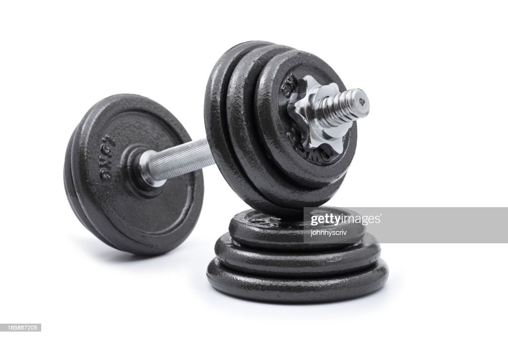 Dumbbell and Weights... : Stock Photo