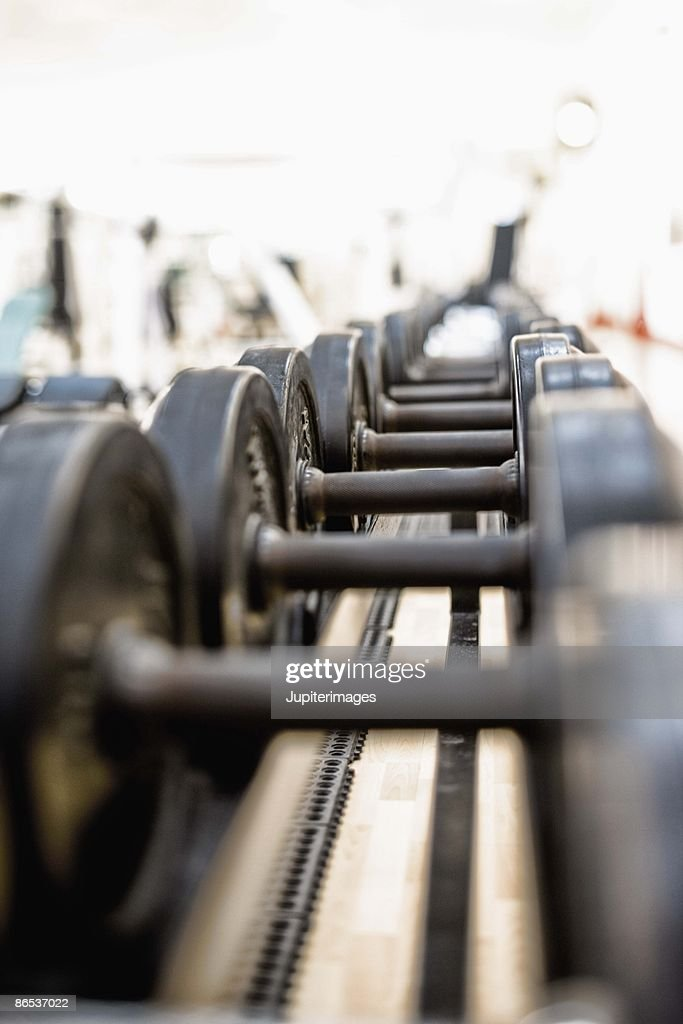 Dumbbells : Stock Photo