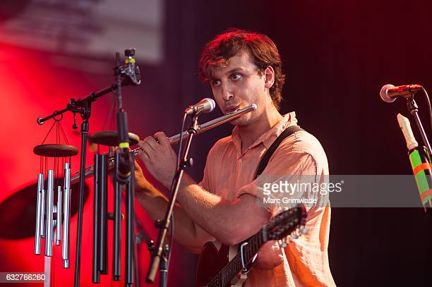 D Dumbo performs at St Jerome's Laneway Festival on January 26 2017 in Brisbane