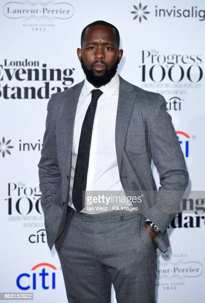 Dumi Oburota at the London Evening Standard's annual Progress 1000 in partnership with Citi and sponsored by Invisalign UK held in London