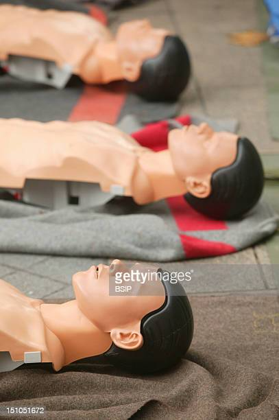 Dummied For First Aid Training By French Red Cross
