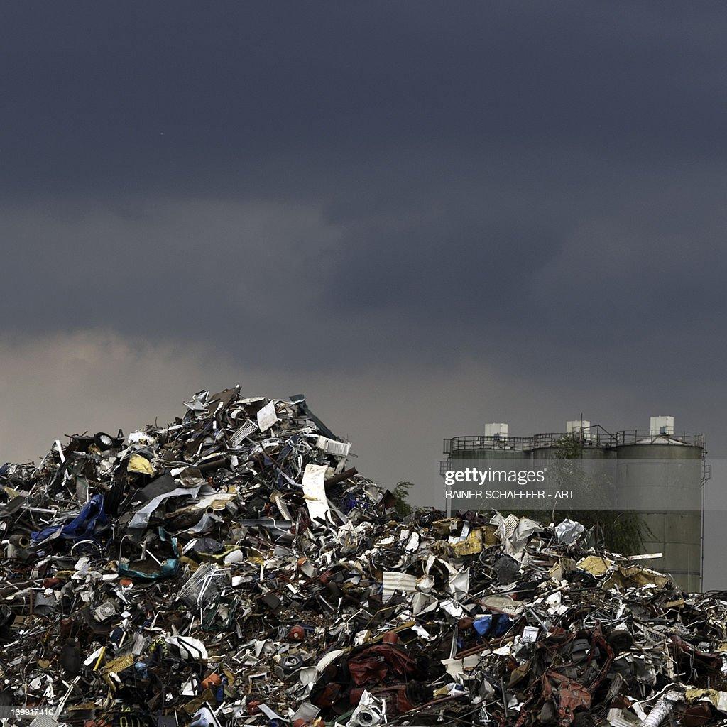 Dumping ground : Stock Photo