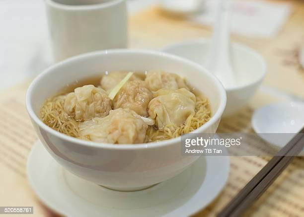 Dumpling (Won Ton) Noodle Soup
