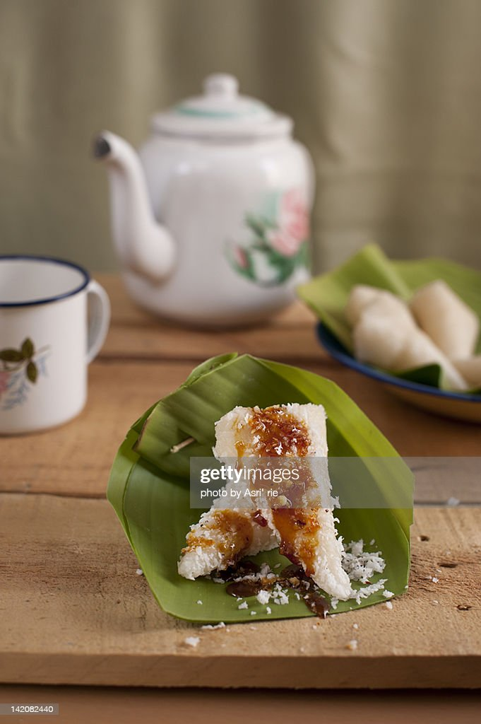 Dumpling rice : Stock Photo