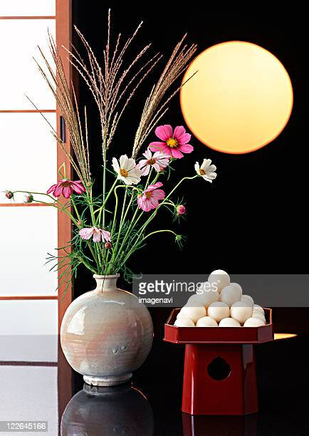 Dumplings Offered to the Moon and Flower