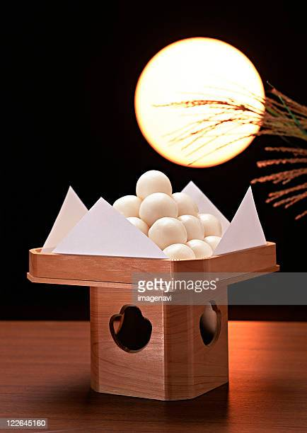 Dumplings Offered to the Moon and Full Moon
