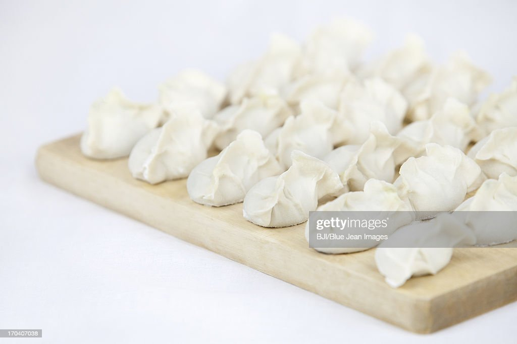 Dumplings,Chinese traditional food  : Stock Photo