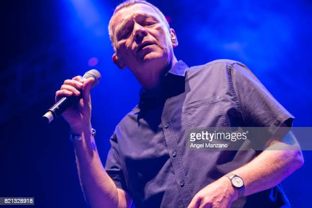 Duncan Campbell of UB40 performs on stage at Noches del Botanico on July 23 2017 in Madrid Spain