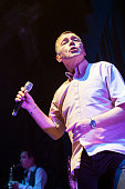 Duncan Campbell of UB40 performs on stage at the Assembly on November 26 2014 in Leamington Spa United Kingdom