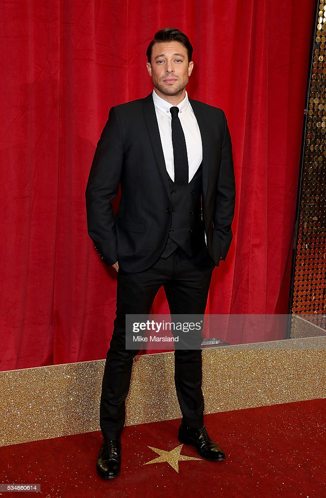 <a gi-track='captionPersonalityLinkClicked' href=/galleries/search?phrase=Duncan+James&family=editorial&specificpeople=175938 ng-click='$event.stopPropagation()'>Duncan James</a> attends the British Soap Awards 2016 at Hackney Empire on May 28, 2016 in London, England.