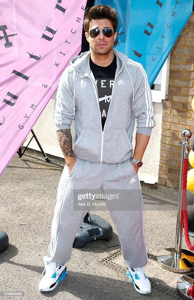 Duncan James attends the launch of the Culture Gym and Kitchen in Wandsworth on May 1, 2016 in London, England.