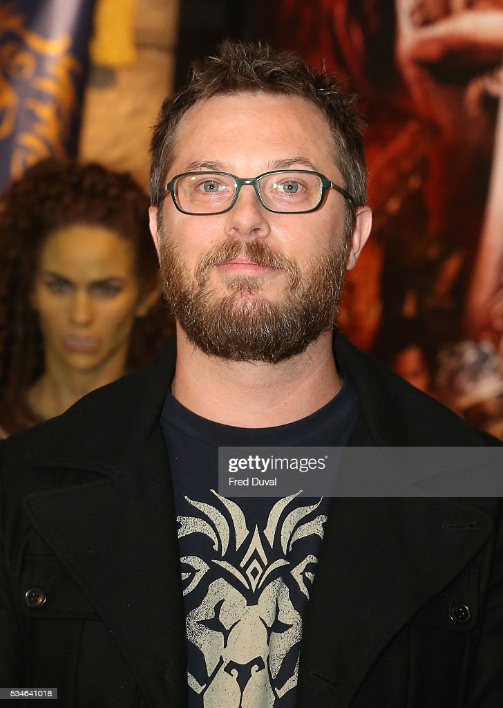 Duncan Jones attends the launch of the Warcraft Experience at Madame Tussauds on May 27, 2016 in London, England.