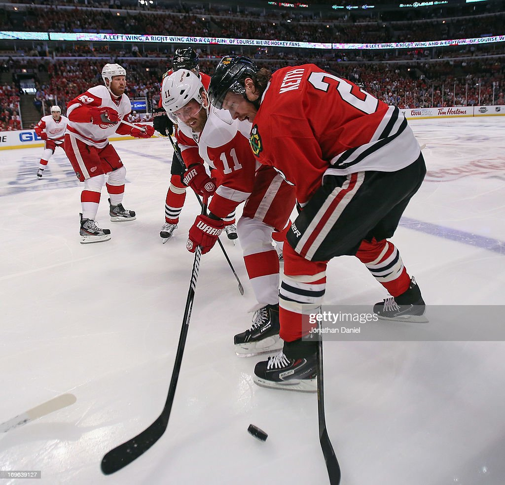 Detroit Red Wings v Chicago Blackhawks - Game Seven
