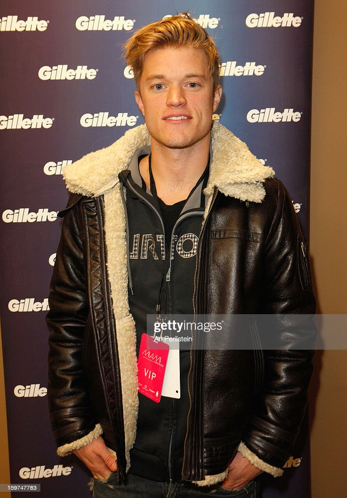Duncan Penn attends Gillette Ask Couples at Sundance to 'Kiss & Tell' if They Prefer Stubble or Smooth Shaven - Day 2 on January 19, 2013 in Park City, Utah.