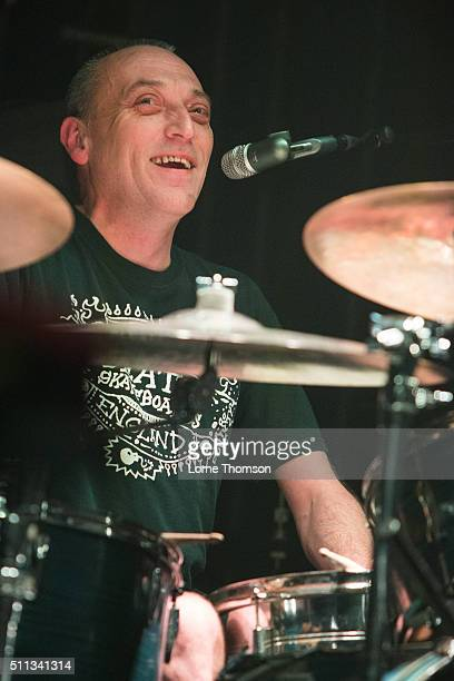 Duncan Redmonds of Snuff performs at Electric Ballroom on February 19 2016 in London England