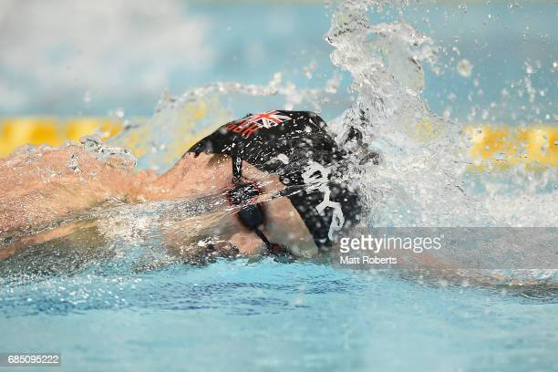 Duncan Scott of Great Britain competes in 200m Freestyle BFinal during the Japan Open 2017 at Tokyo Tatsumi International Swimming Pool on May 19...