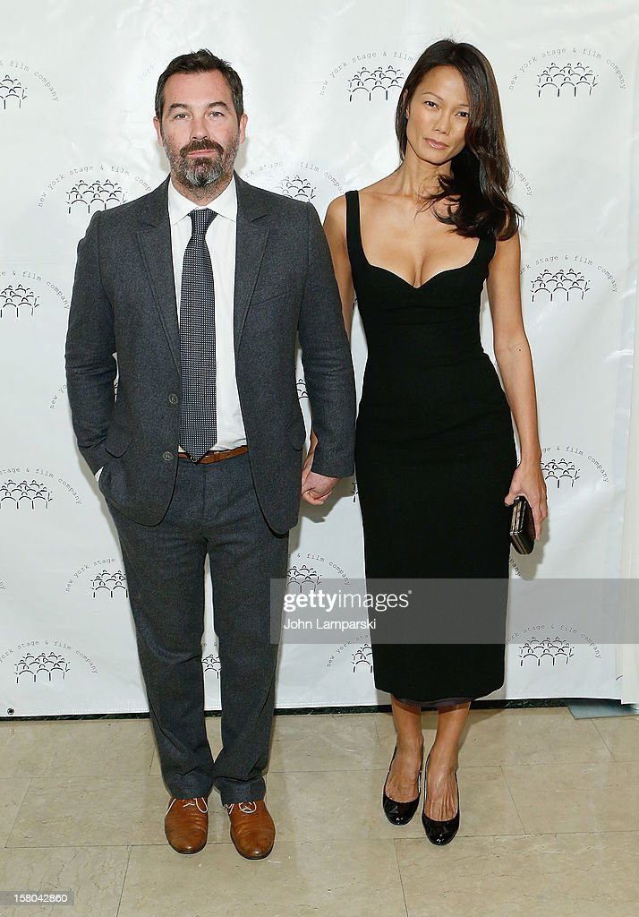 Duncan Sheik and Nora Ariffin attend 2012 New York Stage And Film Winter Gala at The Plaza Hotel on December 9, 2012 in New York City.
