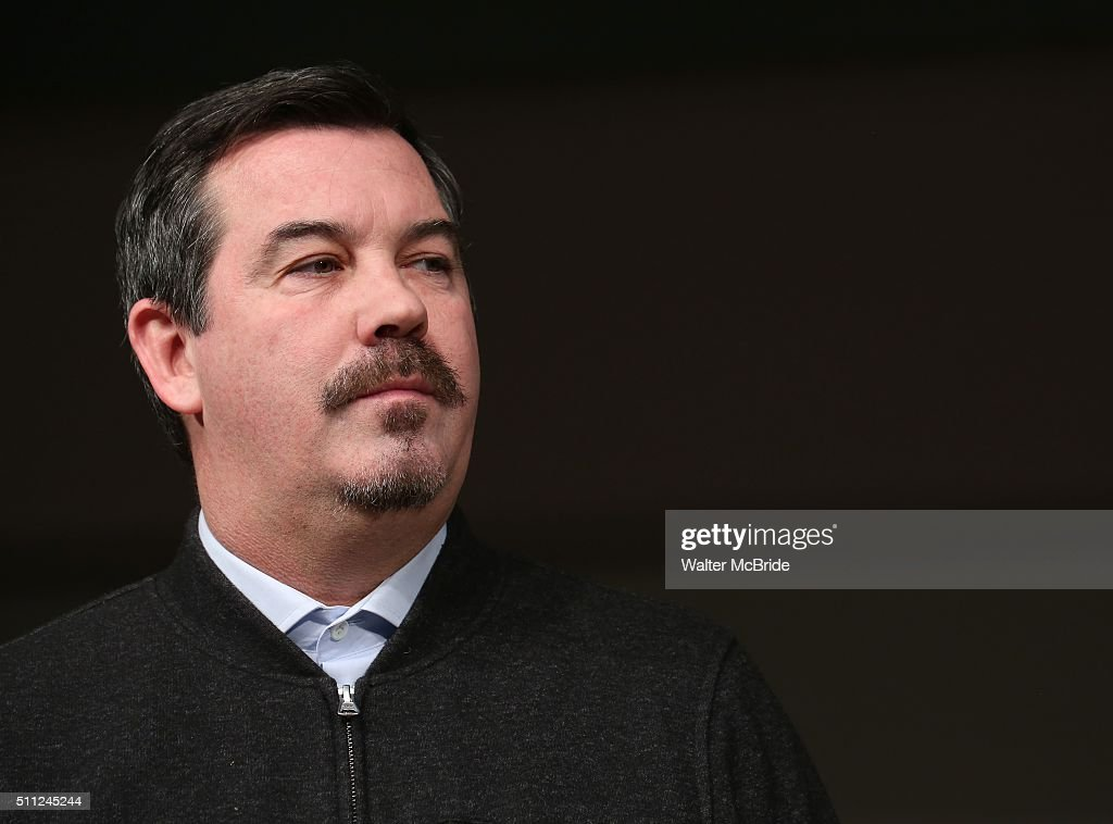Duncan Sheik during the 'American Psycho' press preview at The New 42nd Street Studios on February 18 2016 in New York City