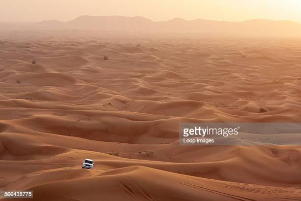Dune bashing in the Dubai desert