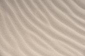 Wavy desert sand texture background.