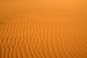 Dune with rippled sand