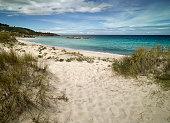 Dunes at Baranian Beach, Galicia