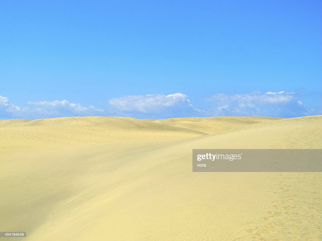 Dunes at Maspalomas, Gran Canaria : Stock Photo