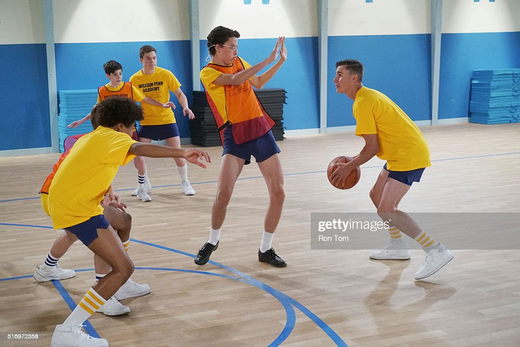 THE GOLDBERGS -'Dungeons & Dragons, Anyone?' - Adam convinces Coach Mellor to let him be team captain in gym class. He betrays his friends by picking the jocks first, causing the two rivaling squads to battle it out with the game the nerds know best - Dungeons and Dragons! Meanwhile, Erica decides where she wants to go to college but encounters resistance from both Beverly and Murray, on 'The Goldbergs,' WEDNESDAY, APRIL 6 (8:30-9:00 p.m. EDT) on the ABC Television Network. (Photo by Ron Tom/ABC via via Getty Images)MASON