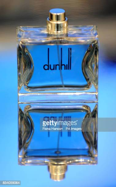 Dunhill's new fragrance for men Dunhill London at it's launch in Selfridges central London