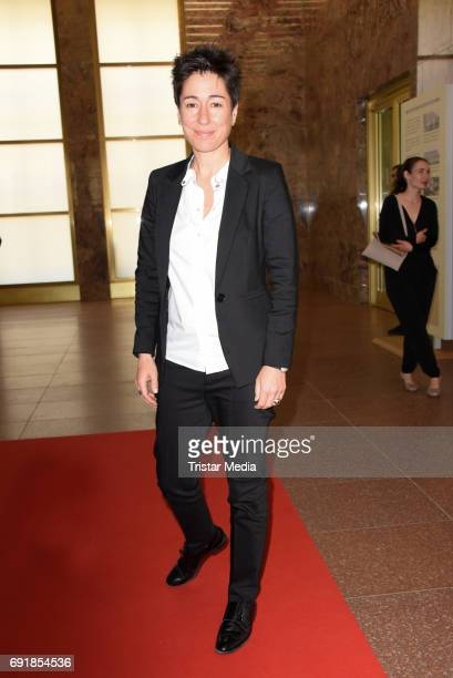 Dunja Hayali attends the CIVIS Media Award 2017 on June 1 2017 in Berlin Germany