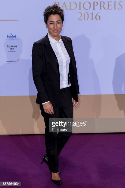Dunja Hayali attends the Deutscher Radiopreis 2016 on October 6 2016 in Hamburg Germany