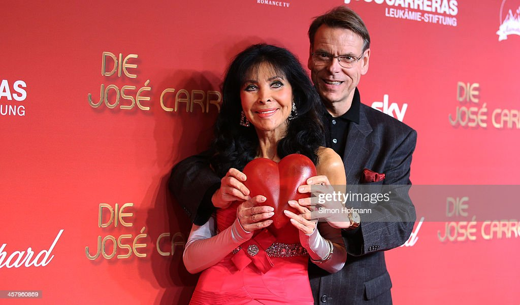 Dunja Rajter and Michael Eichler attend the 19th Annual Jose Carreras Gala at Europapark on December 19, 2013 in Rust, Germany.