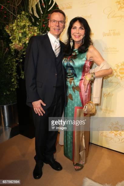 Dunja Reiter Michael Eichler attend the 7th VITA Charity Gala in Wiesbaden on September 24 2016 in Wiesbaden Germany