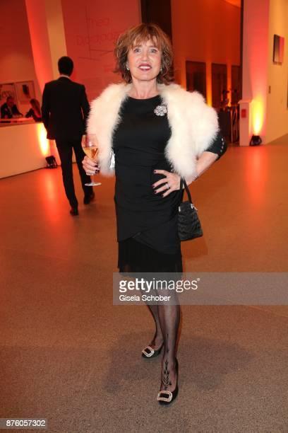Dunja Siegel during the PIN Party 'Let's party 4 art' at Pinakothek der Moderne on November 18 2017 in Munich Germany
