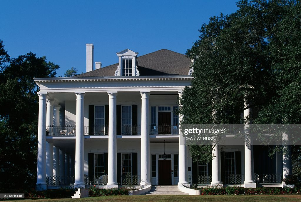 Dunleith House historic antebellum mansion Natchez Mississippi United States of America