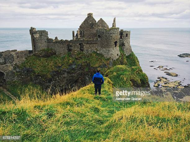 Dunluce castle, Northern Ireland, UK
