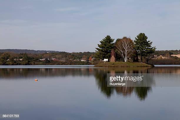 Dunning Lake in Farmington Connecticut