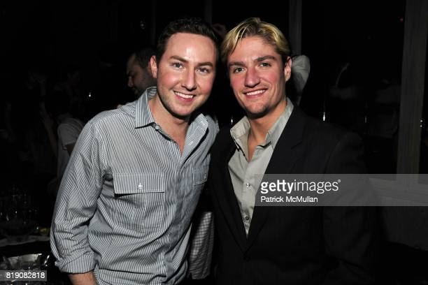 Duntin Terry and Matt Assante attend NIGHT AT AVENUE at Avenue on March 18 2010 in New York City